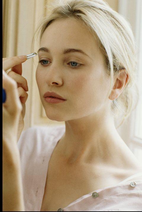 Face, Hair, Eyebrow, Skin, Lip, Beauty, Nose, Head, Chin, Forehead,