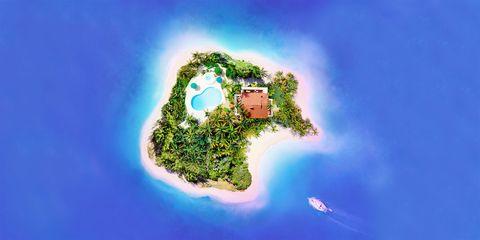 Island, Colorfulness, World, Terrain, Islet, Tropics, Peninsula, Cay,