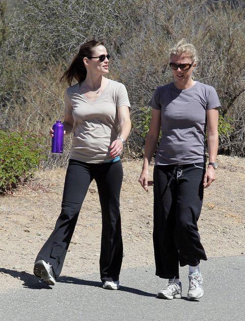 celebrity hiking