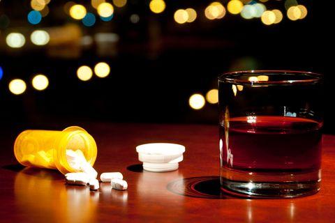 Co-codamol (Zapain) and alcohol