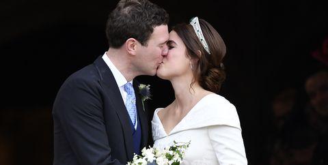 Photograph, Bride, Ceremony, Facial expression, Wedding, Marriage, Dress, Event, Wedding dress, Bridal clothing,