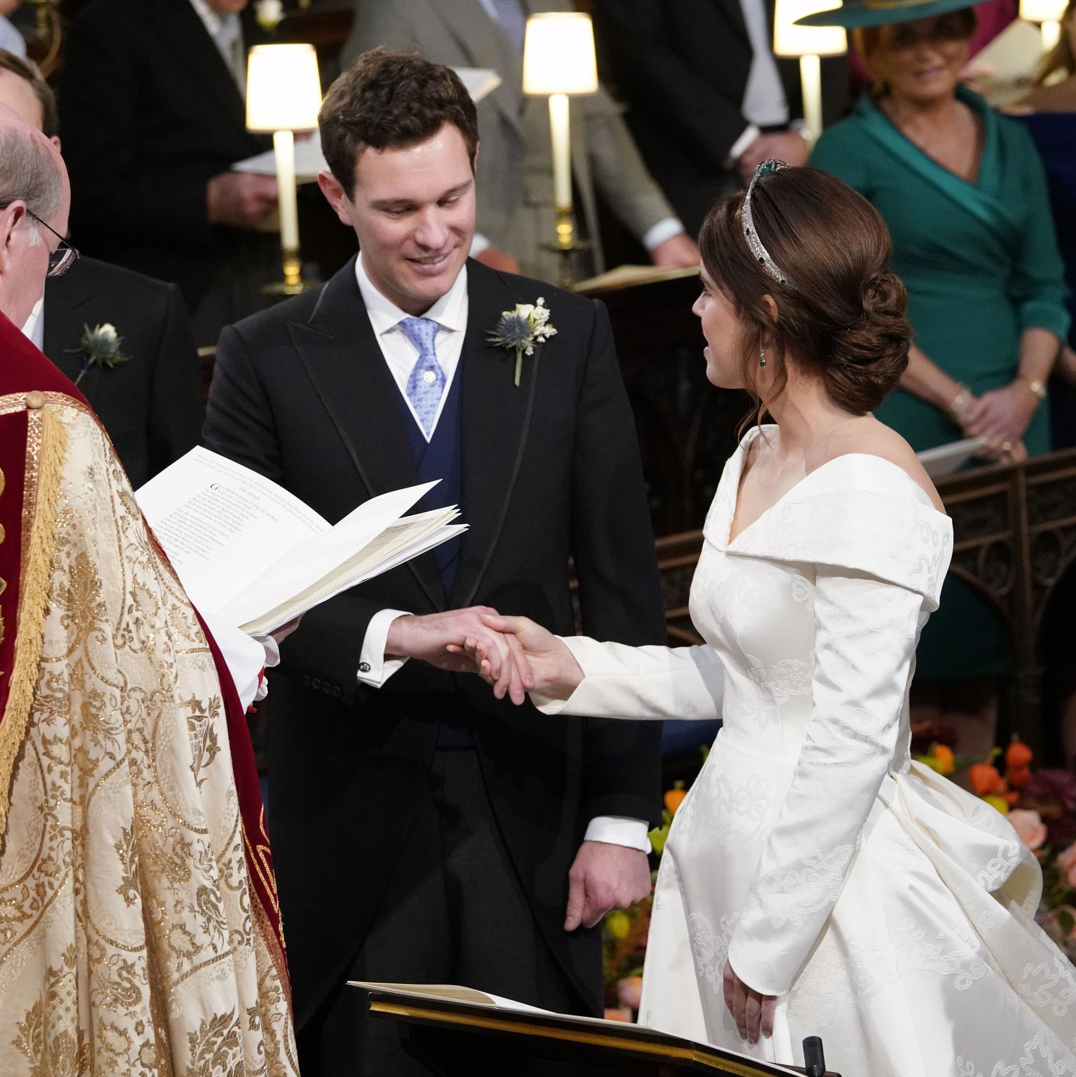 The Adorable Moment Jack Brooksbank Saw Princess Eugenie in Her Wedding Dress