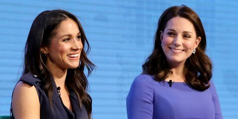 Kate Middleton and Meghan Markle at the First Annual Royal Foundation Forum