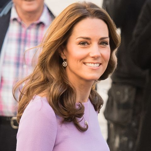 c7a1ed4fcec Kate Middleton Repeats Lavender Emilia Wickstead Dress at the First ...