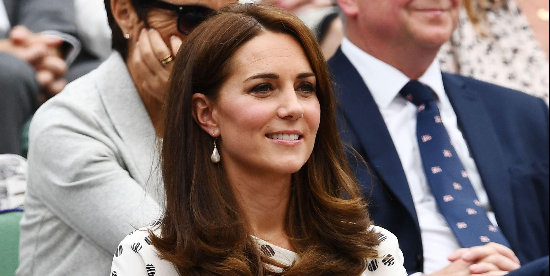 Kate Middleton at Wimbledon 2018