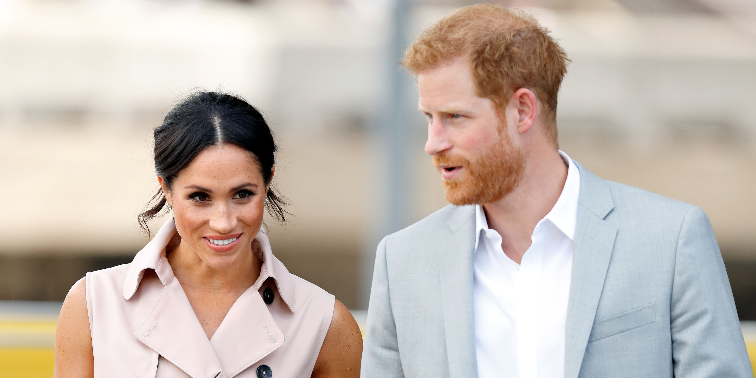 Watch Prince Harry Reportedly Cracked a Joke About Meghan Markle video