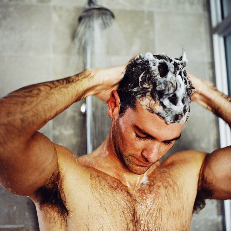 How often should a man wash his hair?