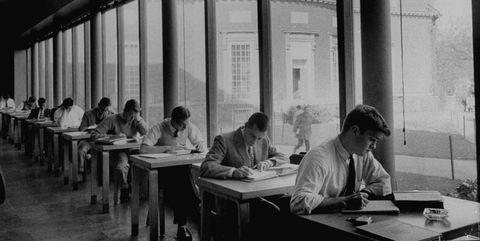 Table, Furniture, Sitting, Monochrome, Black-and-white, Monochrome photography, Employment, Job, White-collar worker, Desk,