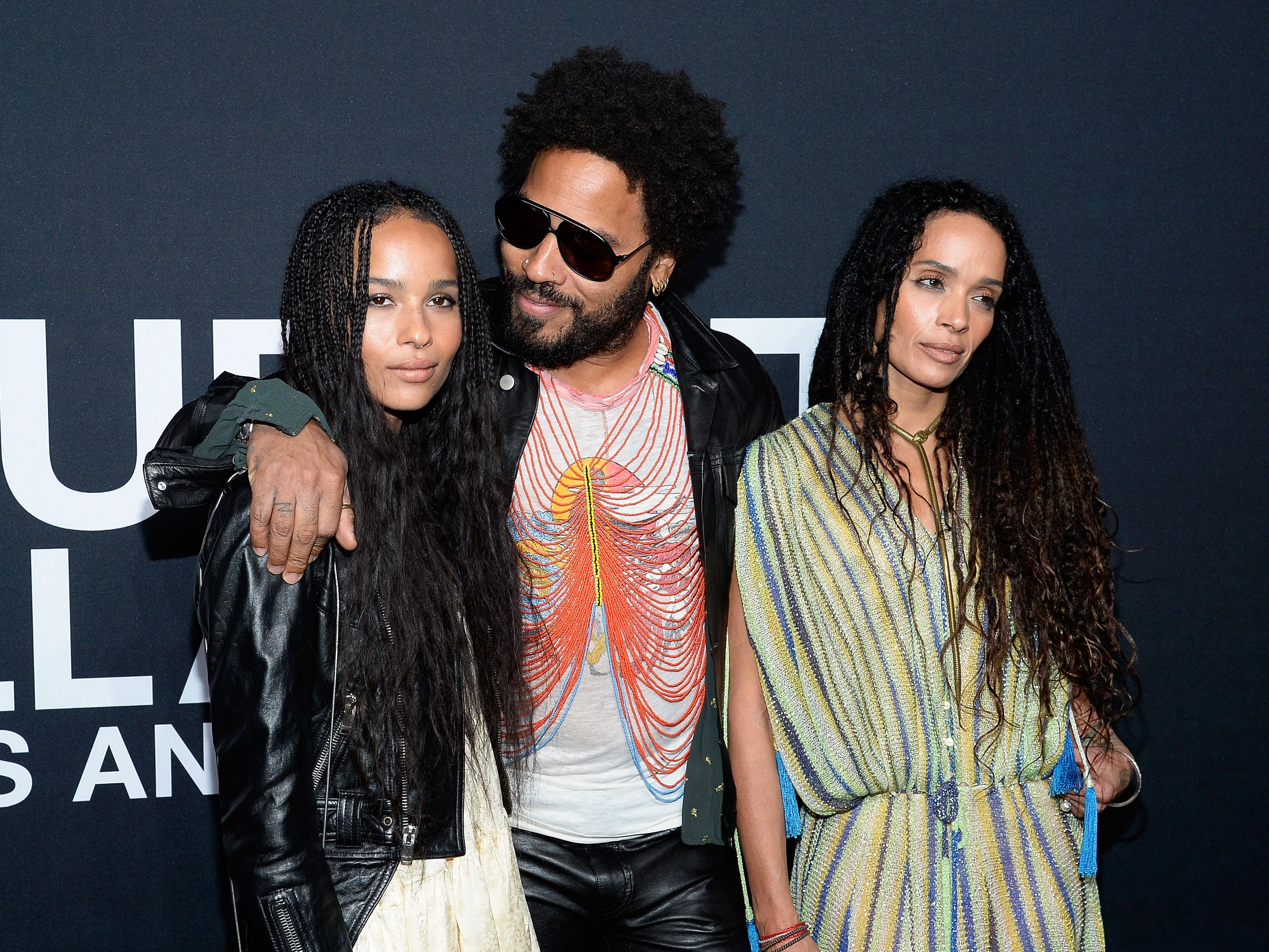 Zoe Kravitz S Parents Lisa Bonet And Lenny Kravitz Were So