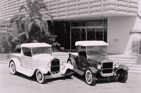 Two Custom Ford Roadster Pickups - 1929 and 1927