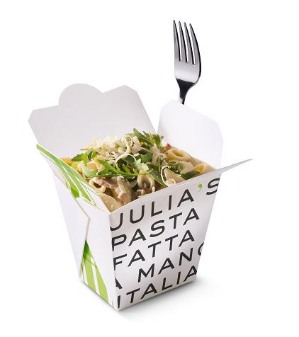 Een gezonde pasta van Julia's