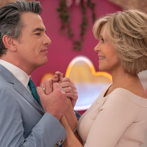 who plays nick on grace and frankie - peter gallagher