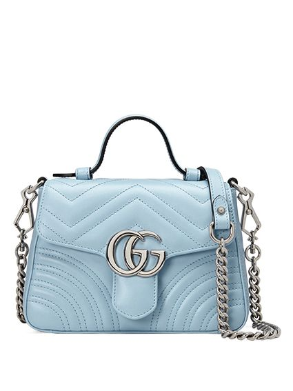 GG Marmont 伯爵藍手提包