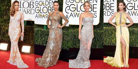 The Most Naked Golden Globes Dresses Of All Time - Sexiest Dresses on the  Golden Globes Red Carpet 06863b13c
