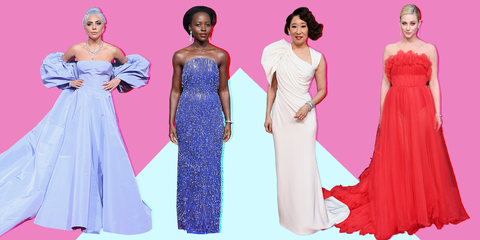 Dress, Clothing, Gown, Fashion model, Shoulder, Pink, Formal wear, Day dress, Purple, Fashion,