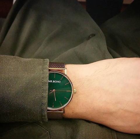 手錶, 極簡, 文青, 設計師, Mr. Boho, 情侶對錶, 交換禮物, 腕錶, 手錶推薦, 男錶, 女錶