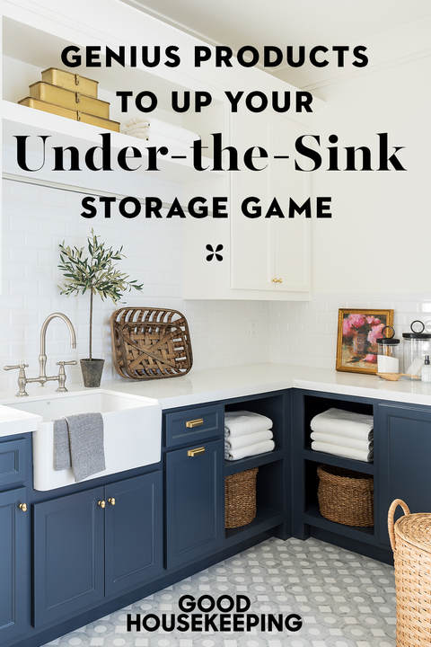 11 Genius Under The Sink Storage Ideas Best Sink Organizers