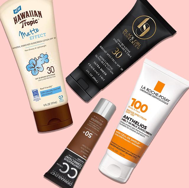 sunscreens for dark skin