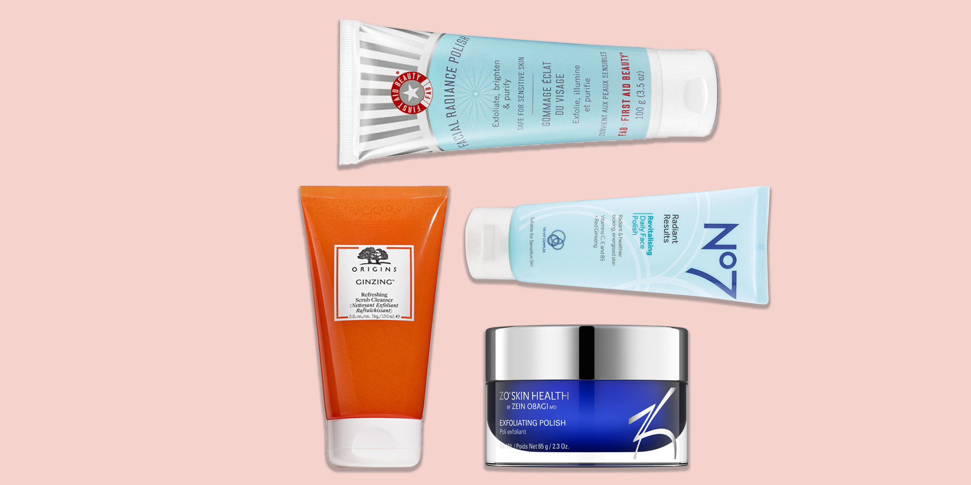 14 Best Face Scrubs 2020 - Best Face Exfoliators for Glowing Skin