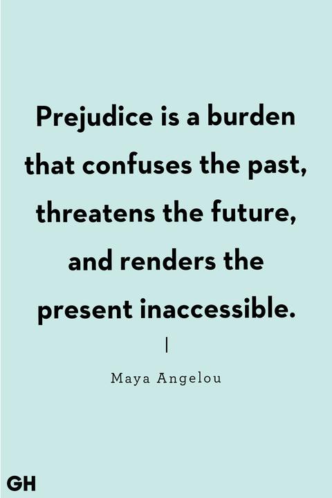 maya angelou quote on racism