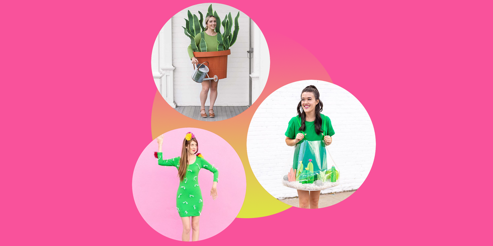 10 DIY Plant Costumes That'll Show Off Your Green Thumb This Halloween