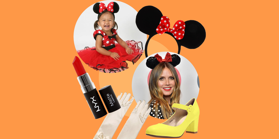 11 Easy DIY Minnie Mouse Costume Ideas for the Cutest Halloween Ever