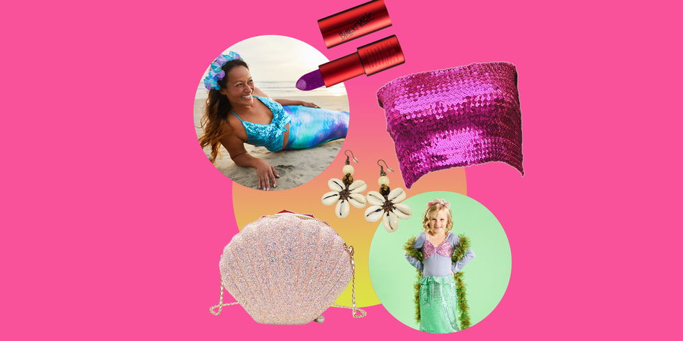 15 Gorgeous DIY Mermaid Costumes You Can Throw Together at the Last Minute
