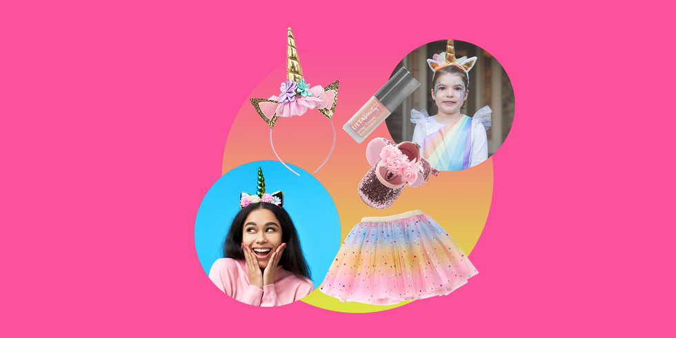 15 DIY Unicorn Costumes You Can Make At Home for the Most Magical Halloween Ever