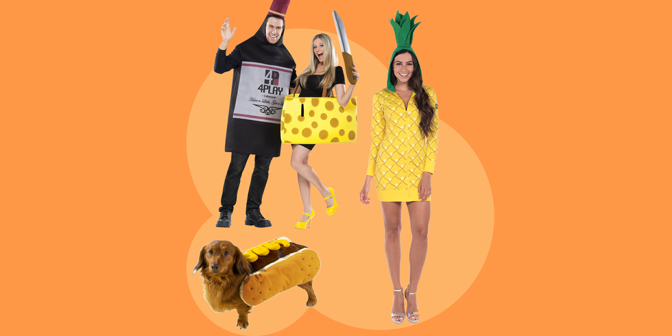30+ Tasty Food Costume Ideas to Try for Halloween
