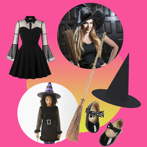 Best Diy Witch Halloween Costume 2020 How To Make A Witch Costume