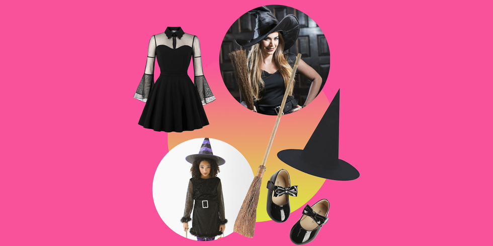 10 Unique and Easy DIY Witch Costume Ideas