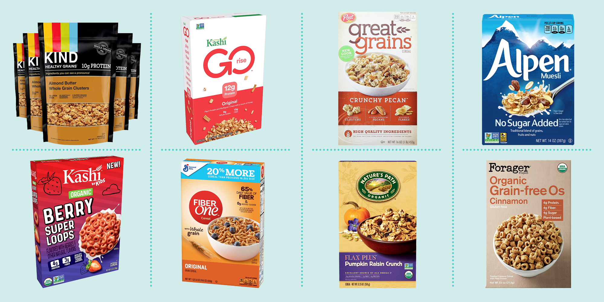 acceptable cereals on the plant based diet