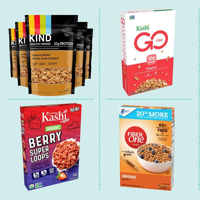 healthy whole grain cereals