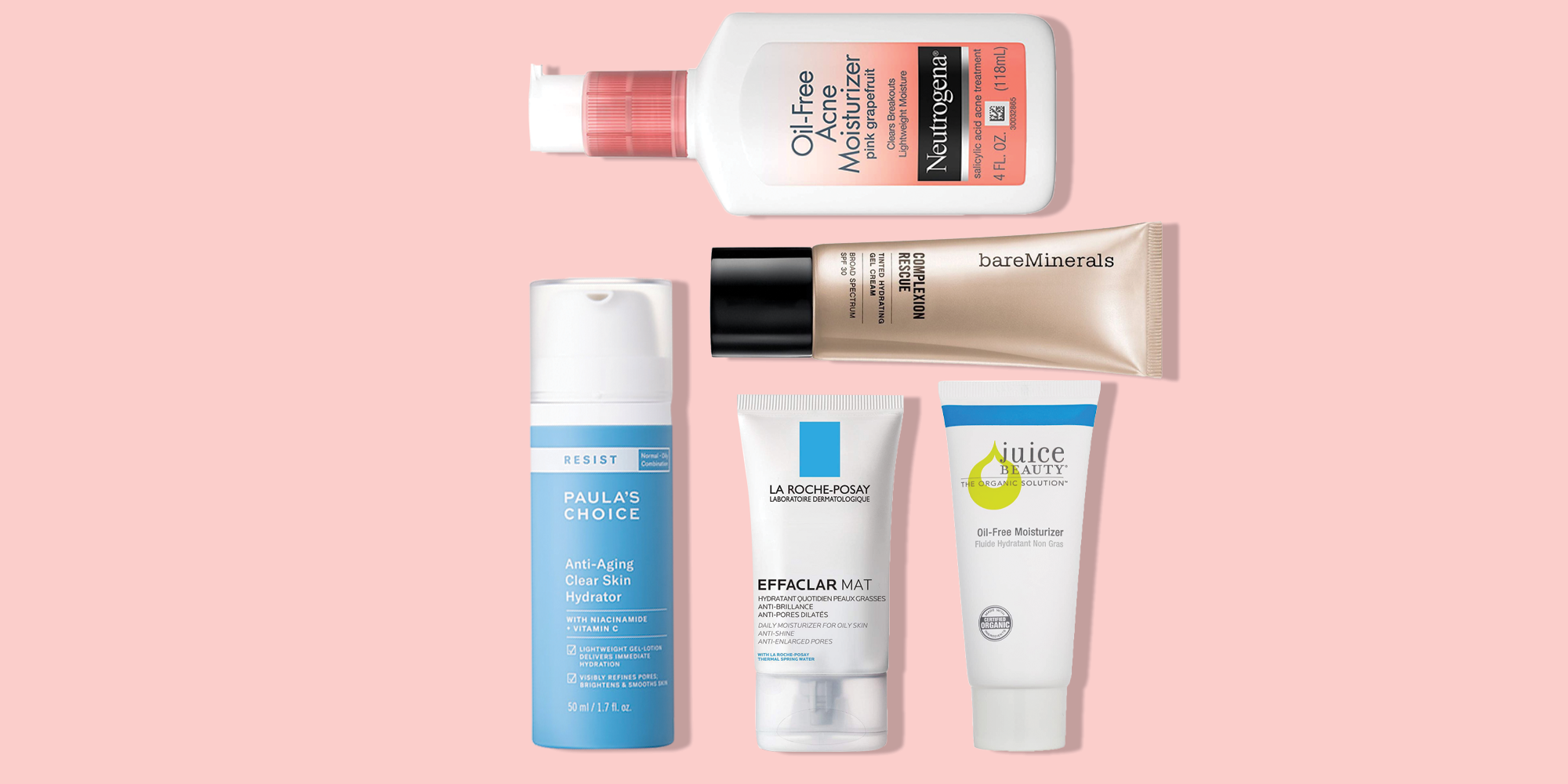 12 Best Moisturizers for Oily Skin 1221 - Top Rated Oil-Free Face