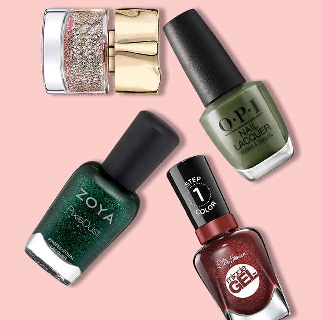 12 Best Christmas Nail Colors 2020 Festive Nail Polishes For The Holidays