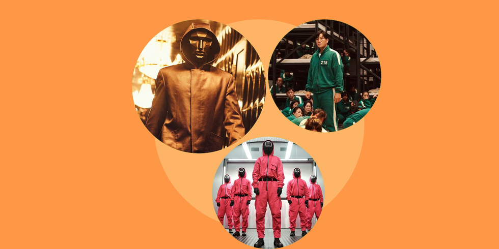 The Best 'Squid Game' Halloween Costumes, Because We're Never Playing 'Red Light, Green Light' Again
