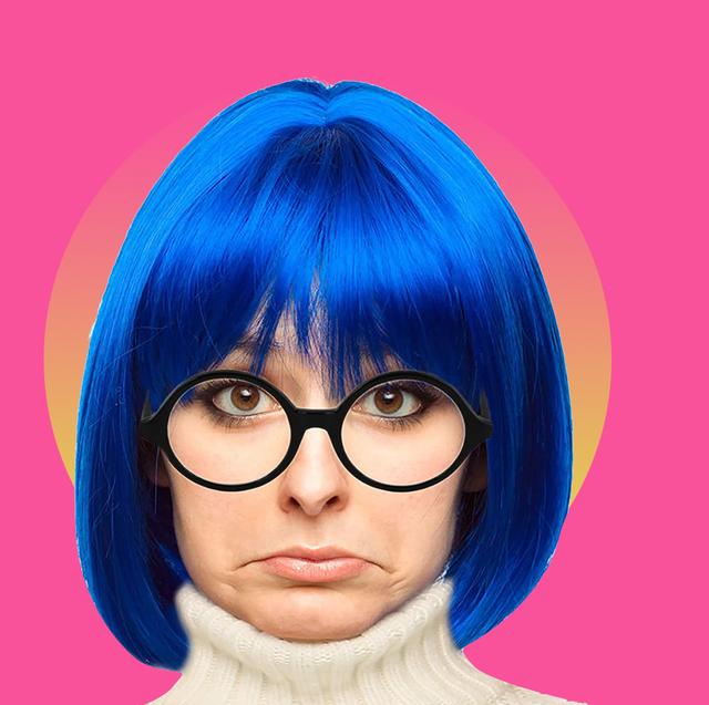 blue hair halloween costumes