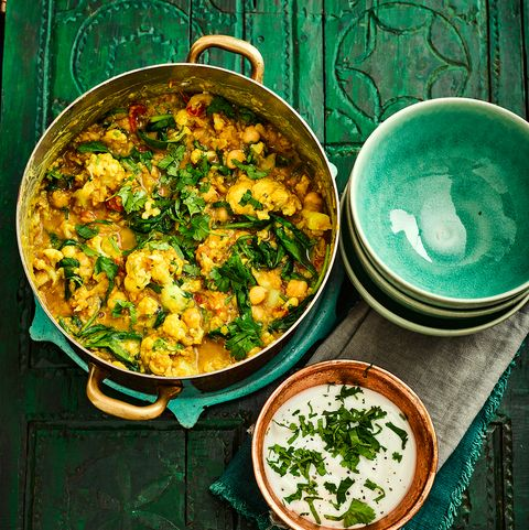 Lentil Chickpea And Cauliflower Dahl Recipe