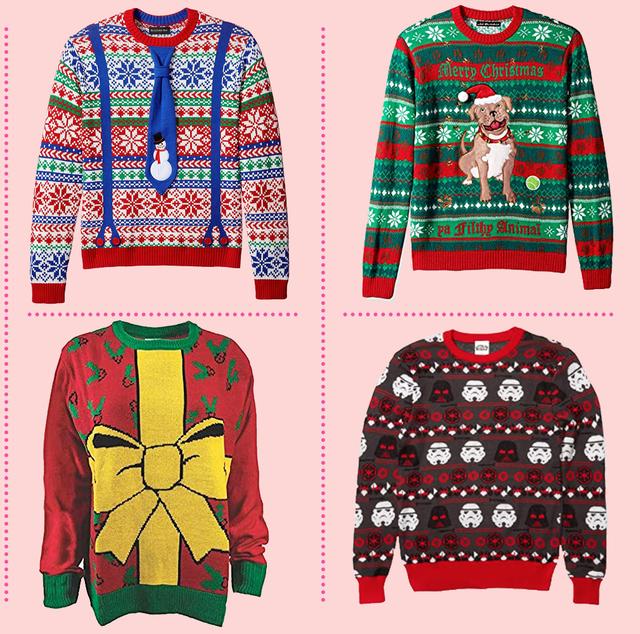 Funn Christmas Sweater 2020 36 Ugly Christmas Sweaters to Buy or DIY   Homemade Ugly Christmas