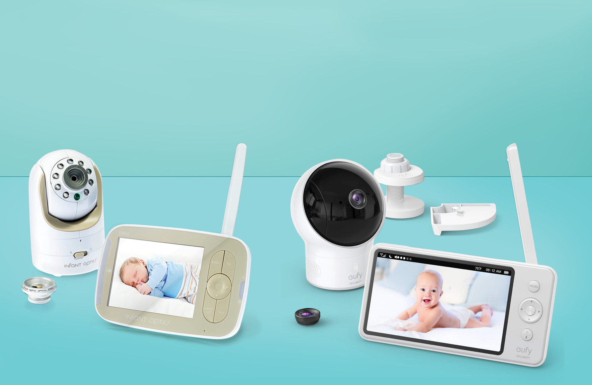 Image result for The best quality baby monitors with advanced features