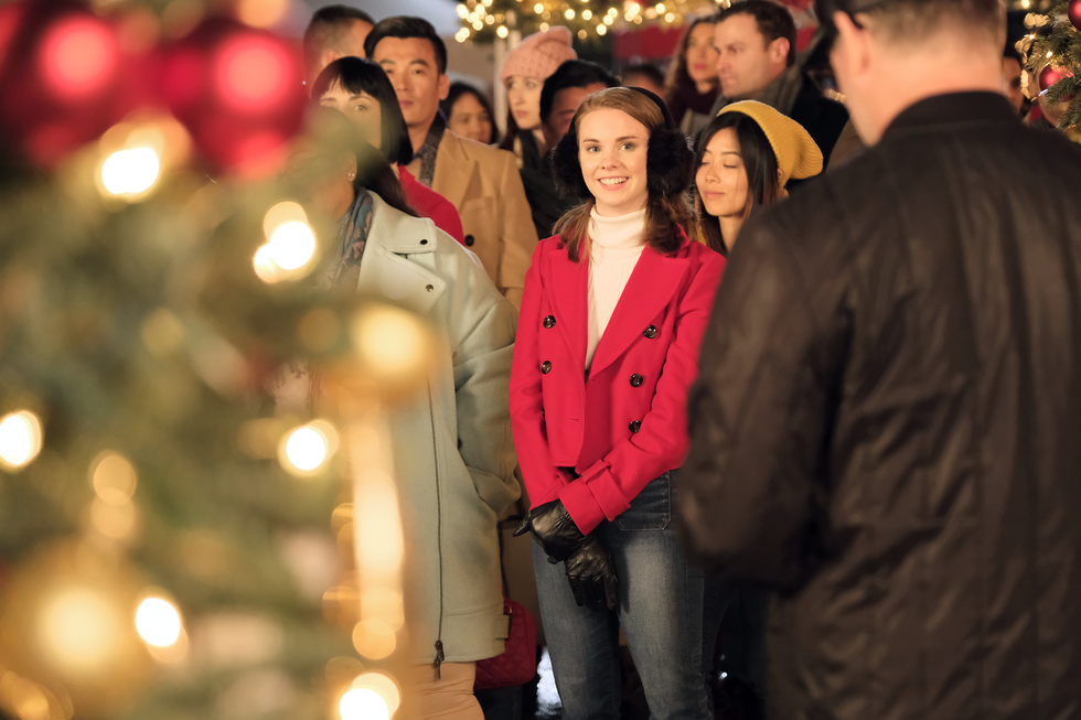 I Spent the Day as an Extra in a Hallmark Christmas Movie