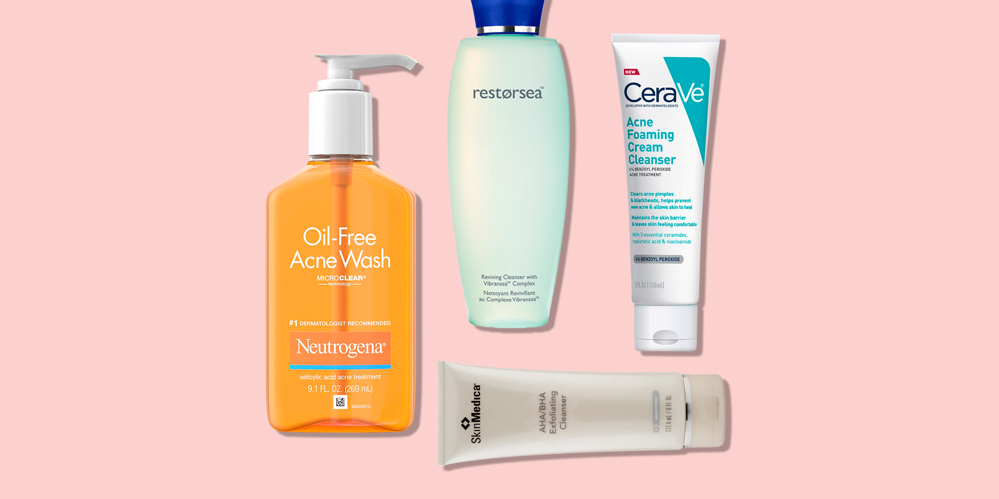 12 Best Face Wash for Acne 12 - Best Face Cleansers for Pimples
