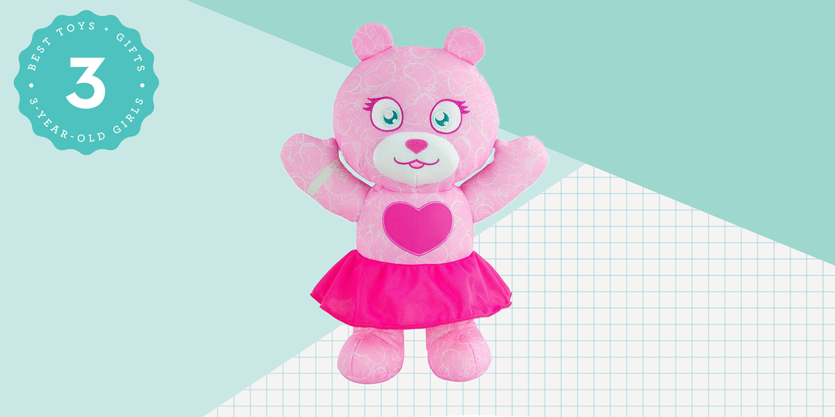 This  Customizable Doodle Bear Is the Perfect Gift for 3-Year-Old Girls
