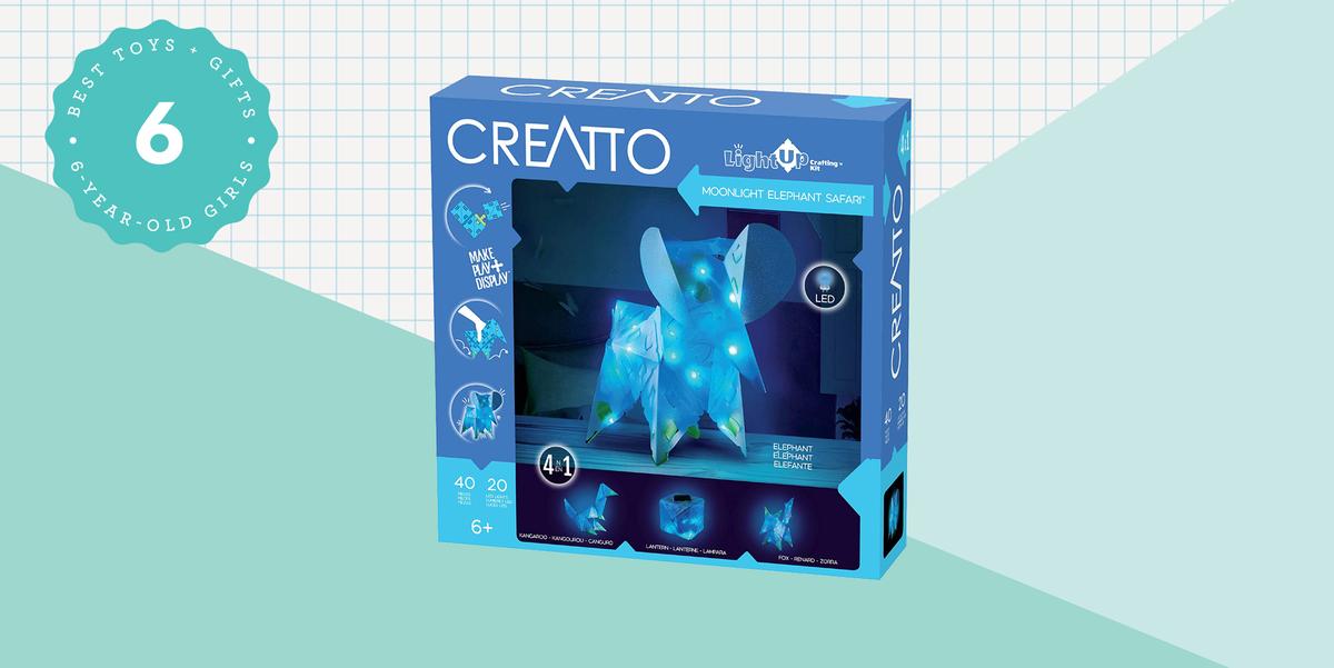 Вашему шестилетнему ребенку понравится создавать эти увлекательные светящиеся творения