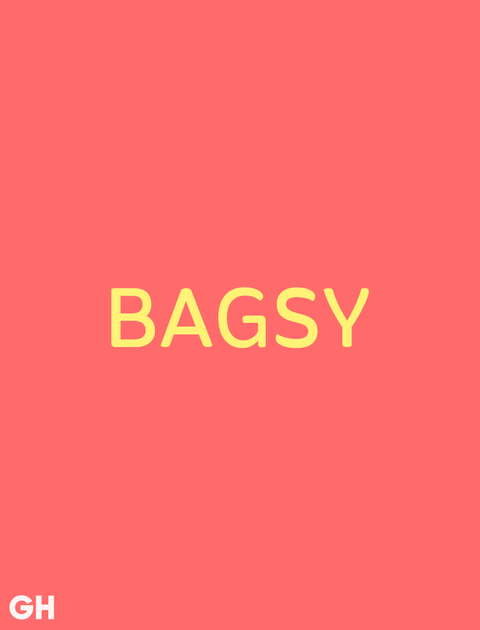 British Slang Word Bagsy