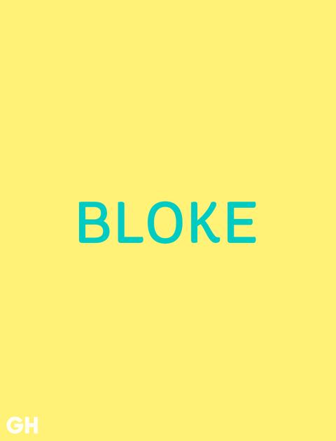 British Slang WordBloke