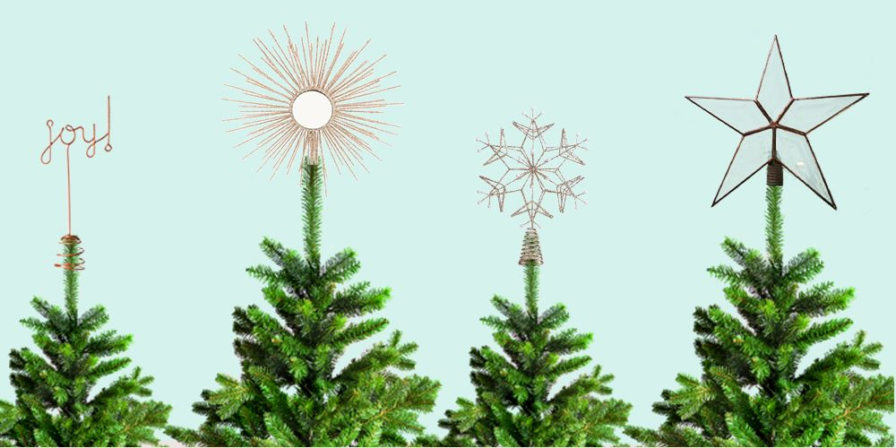 18 Unique Christmas Tree Topper Ideas