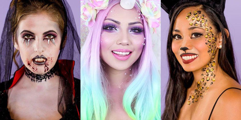 35 Easy Halloween Makeup Ideas Tutorials 2018 Diy Makeup How Tos