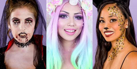 Halloween Costumes With Makeup Ideas