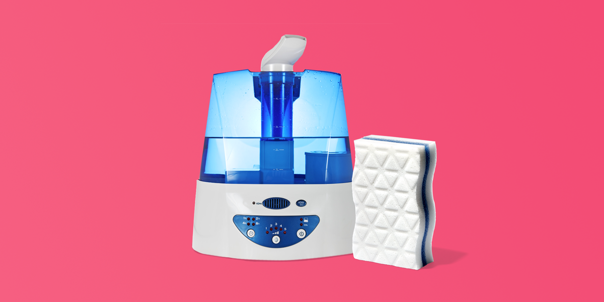 How to clean a humidifier (and why you should often).